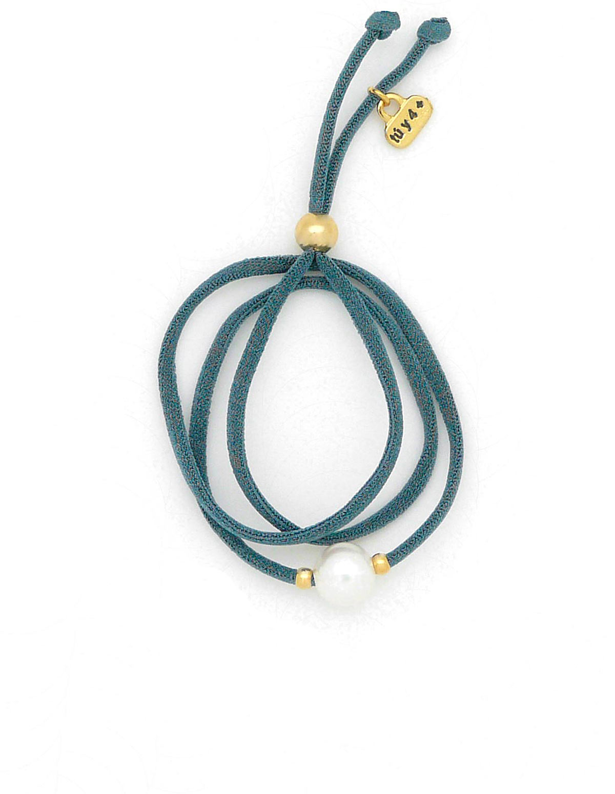 Pulsera / collar perla azul
