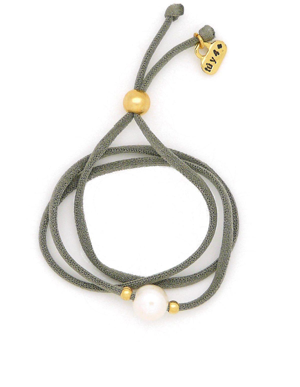 Pulsera / collar perla verde