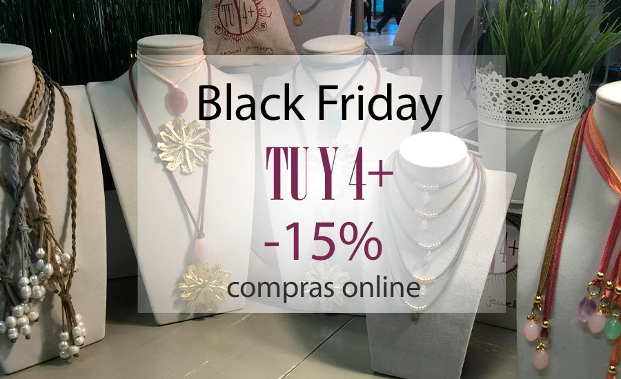 Black Friday: 15% de descuento